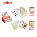 Jeu 54 cartes Euro/dollar